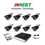 กล้องวงจรปิด INNEKT 8 ตัว พร้อมติดตั้ง