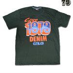 เสื้อยืดชาย Lovebite Size XXL - Since 1979 Denim