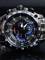 Casio Edifice Black Red Bull Racing Limited Edition EF-550RBSP-1A ALL  ระบบ Chronograph