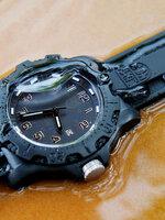 Luminox 8800 evo navy seal colormark series หน้าปัดสีดำล้วน ใช้งานจริงกับหน่วย U.S. Navy Seals
