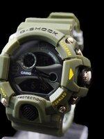 นาฬิกา G Shock AAA รุ่น Limited Edition สีเขียวทหาร 2 ระบบ ใหม่ล่าสุด พร้อมกล่อง ส่งฟรี Ems