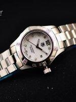 TAG Aquaracer 300 Meters Diamond Dial เลดี้ หน้าปัดสีขาว สวยหรู มีระดับ งานเกรด Mirror บอดีสวิส
