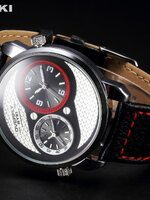 นาฬิกาแบรนด์เนม Eyki สีดำแดง สไตล์ Classic livestyle