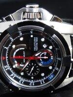 นาฬิกา SEIKO VELATURA YACHTING TIMER CHRONOGRAPH สายหนังดำแท้ สวยขั้นเทพหายาก พร้อมกล่อง