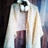 ผ้าพันคอ ชีฟอง สกรีนลาย Chiffon CF01-026-1