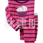 ชุดนอน Baby Gap ลาย CupCake สีม่วง-ชมพู แขนยาว