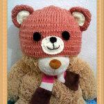 หมวกไหมพรม หมีน้อย
