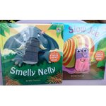 Finger puppet book Smelly Nelly + Slow Joe