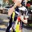 ( พร้อมส่งเสื้อผ้าเกาหลี) เดรสผ้ายืดเนื้ออย่างดี ไม่บางนะคะ เนื้อสวย ชิคๆ ด้วยงานพิมพ์ลายแนว Art สีเปื้อนๆ ดูเก๋สวยน่าใส่มากคะ สีสันสดสวย เก๋ๆ ด้วยทรงเดรสคอกลม ใส่ง่าย ใส่ได้หลายโอกาสนะคะ สาวๆ ใส่แล้วพับแขนนิดๆ thumbnail 1
