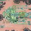 ชุดเดรสเกาหลี พร้อมส่ง maxidress ลุคสดใส เนื้อผ้าchiffonพิมพ์ลายคมชัด ดีเทลผ่าแขนเก๋มาก thumbnail 30