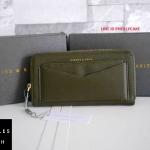 กระเป๋าสตางค์ยาว CHARLES & KEITH LONG ZIP WALLET ทรงสวย ใบยาว