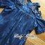 Lady Christine Embellished Washed Denim Shirt Dress L164-79C07 thumbnail 7