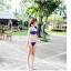 SM-V1-131 ชุดว่ายน้ำแฟชั่น คนอ้วน เด็ก ดารา thumbnail 4