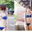 SM-V1-131 ชุดว่ายน้ำแฟชั่น คนอ้วน เด็ก ดารา thumbnail 3