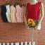 แขนกุดเสื้อลูกไม้ตัวสั้นหรูหรา เนื้อผ้าดีมาก thumbnail 8