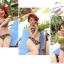 SM-V1-254 ชุดว่ายน้ำแฟชั่น คนอ้วน เด็ก ดารา thumbnail 5