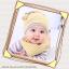 เซตหมวก+ผ้าซับน้ำลาย / ลาย Lovely Baby (มี 6 สี) thumbnail 11