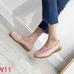 รองเท้าคัทชู ทรง loafer แต่งตะเข็บข้างสวยเรียบเก๋ หนังนิ่ม พื้นนิ่ม พื้นยางนิ่มยืดหยุ่น ใส่สบาย แมทสวยได้ทุกชุด (N013)