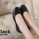 รองเท้าคัทชู ส้นเตี้ย แต่งลายด้านหน้าสวยเรียบเก๋ ทรงสวย ใส่สบาย แมทสวยได้ทุกชุด (3688-927)