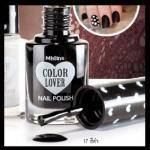 No.17 สีดำ Black / มิสทีน คัลเลอร์ เลิฟเวอร์ แบล็ค แอนด์ ไวท์