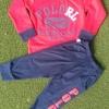 carter's : set เสื้อแขนยาว+ขายาว RL (แขนขาจั๊ม) สีแดง Size : 1T (9-18m) / 3T (2-2.5y) / 6T (4-5y)