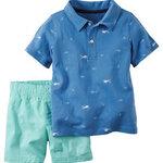 ชุดเซ็ท เสื้อ+กางเกง เด็กเล็ก