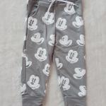 H&M : กางเกงขาจั๊ม ลายมิกกี้เมาส์ สีเทา size 2-4y / 4-6y / 6-8y / 8-10y