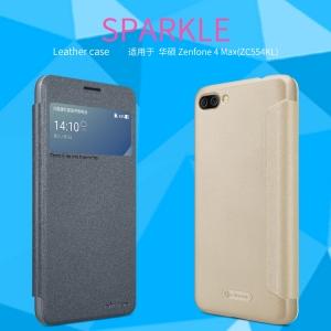 เคสมือถือ Zenfone 4 Max Pro (ZC554KL) รุ่น Sparkle Leather Case