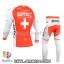 ชุดจักรยานแขนยาวทีม BMC 14 สีแดงขาว สั่งจอง (Pre-order) thumbnail 2