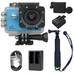 X1000 Blue +Extra Battery+Dual Charger+Protective Lens+TMC Selfie (Green)