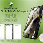 เคสพิมพ์ภาพ Sony xperia Z3 Compact ขอบ PVC