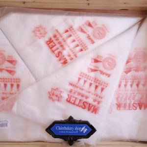 ถุงบีบใช้แล้วทิ้งราคาส่ง12แพค(1200ชิ้น)ขนาด30x33เซ็น