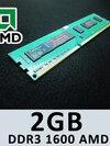 Cruelly DDR3 2GB 1600 AMD