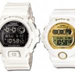 นาฬิกา Casio G-Shock x Baby-G เซ็ตคู่รัก รุ่น DW-6900NB-7 คู่ BG-6901-7 Pair set ของแท้ รับประกัน 1 ปี