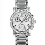 Bulova Diamond Chronograph 96R19 Womens Watch