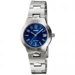 นาฬิกา คาสิโอ Casio STANDARD Analog'women รุ่น LTP-1241D-2A2V ของแท้ รับประกัน 1 ปี