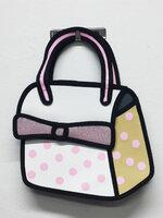 กระเป๋า2มิติ กระเป๋า3D แฟชั่นเกาหลี [รหัส3D025-3]