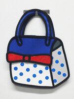 กระเป๋า2มิติ กระเป๋า3D แฟชั่นเกาหลี [รหัส3D025-1]