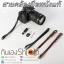 สายคล้องข้อมือกล้องหนังแท้ Camera Wrist Strap Leather thumbnail 5