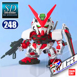 SD BB248 GUNDAM ASTRAY RED FRAME