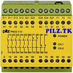 PilZ 774700 PNOZ X10 24VAC 6n/o 4n/c 3LED LiNE iD : PILZ.TK