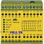 PilZ 774606 PNOZ X9 200-240VAC 24VDC 7n/o 2n/c 2so LiNE iD : PILZ.TK