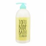 White Tofu Body Bath Cleanser 750ml.ครีมอาบน้ำรูปแบบใหม่ สูตรสารสกัดเต้าหู้ขาว