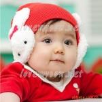หมวกปิดหูสีชมพู ชมพูเข้ม แดง MC37