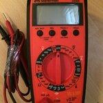 ขายมัลติมิเตอร์ Meterman professional 33XR มือ 2 สภาพกริบ