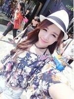 เสื้อเวอร์ชั่นเกาหลี แต่งชั้นนางฟ้าหวานลายดอกไม้ผ้าชีฟอง