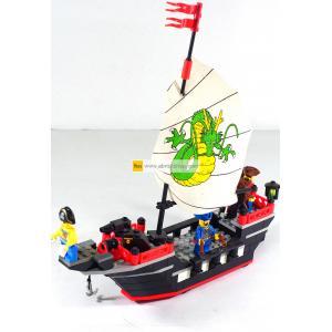 โจรสลัด (Pirate) E-301. ตัวต่อเลโก้จีน เรือมังกร