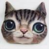 [พร้อมส่ง] หมอนแมว 3D (38x40 cm.) ส่งฟรี EMS