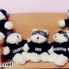 [พร้อมส่ง] ตุ๊กตาหมี EXO เมมเบอร์
