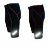 กางเกงขาสั้น X-FOX เป้าเจล 8D มีแถบสะท้อนแสง รุ่น XS08